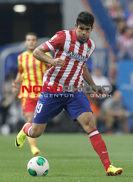 Atletico de Madrid's Diego Costa during Supercup of Spain 1st match.August 21,2013. Foto © nph / Acero)