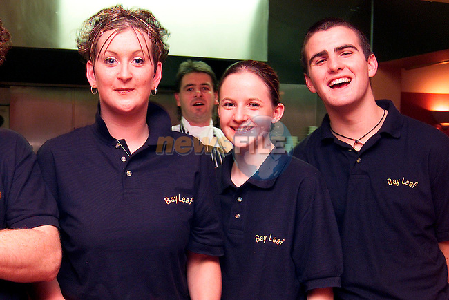 Jenny Burke, Jeanette Kearney and Dave Mulvihill at the official opening the the Bay Leaf Restaurant in Laytown..Picture: Paul Mohan/Newsfile