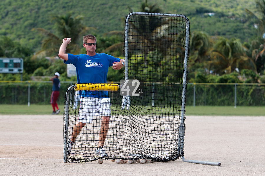 09 May 2010: Jeff Zeilstra is seen during a tryout for Team France, in St Maarten, Netherlands Antilles.
