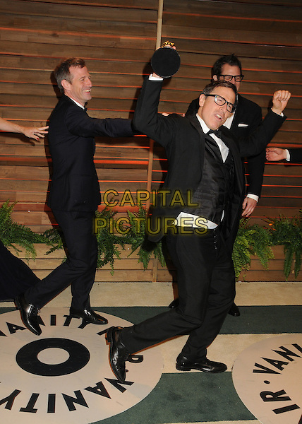 02 March 2014 - West Hollywood, California - Spike Jonze, David O. Russell, Johnny Knoxville. 2014 Vanity Fair Oscar Party following the 86th Academy Awards held at Sunset Plaza. <br /> CAP/ADM/BP<br /> &copy;Byron Purvis/AdMedia/Capital Pictures