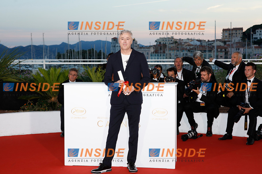 Robin Campillo<br /> 28-05-2017 Cannes <br /> 70ma edizione Festival del Cinema <br /> Awards night . Serata Finale <br /> Foto Panoramic/Insidefoto