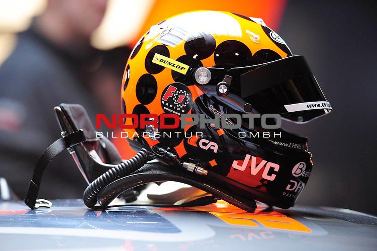 Helm von Christijan Albers (NED) Futurecom TME                                                                                                            Foto © nph (nordphoto)