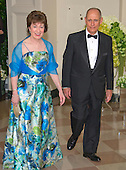 United States Senator Susan Collins (Republican of Maine) and Peter Vigue arrive for the State Dinner in honor of Prime Minister Trudeau and Mrs. Sophie Gr&eacute;goire Trudeau of Canada at the White House in Washington, DC on Thursday, March 10, 2016.<br /> Credit: Ron Sachs / Pool via CNP
