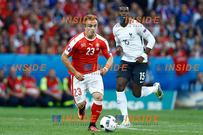 Xherdan Shaqiri Switzerland <br /> Lille 19-06-2016 Stade de Pierre Mauroy Footballl Euro2016 Switzerland - France / Svizzera - Francia Group Stage Group A. Foto Matteo Ciambelli / Insidefoto
