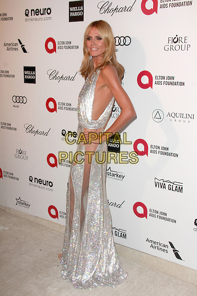 WEST HOLLYWOOD, CA - FEBRUARY 22: Heidi Klum at the 2015 Elton John AIDS Foundation Oscar Party in West Hollywood, California on February 22, 2015. <br /> CAP/MPI/DC/DE<br /> &copy;DE/DC/MPI/Capital Pictures