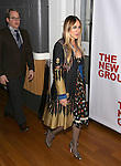 Matthew Broderick and Sarah Jessica Parker attend the opening night party for the New Group Production of Wallace Shawn's  'Evening at the Talk House' at Green Fig Urban Eatery on 2/16/2017 in New York City.