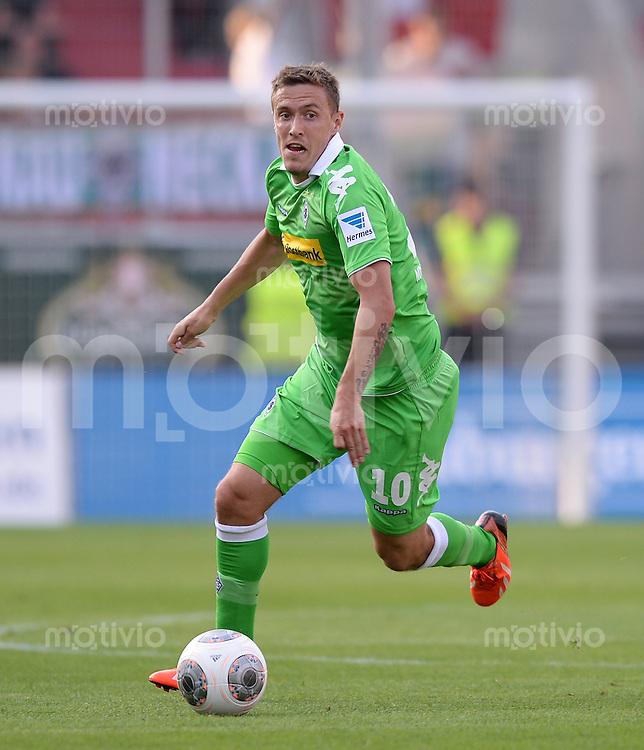 FUSSBALL  1. Bundesliga   2013/2014   Testspiel  FC Ingolstadt 04 - Borussia Moenchengladbach    13.07.2013 Max Kruse (Borussia Moenchengladbach) am Ball