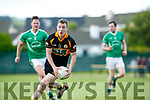 In Action Stacks Darragh O'Brien at the Garveys Supervalu Senior County Football Championship - Round 1 Austin Stacks V St. Kierans at Connolly Park on Saturday