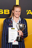 Girls Swimming winner Caroline Baddock from Diocesan School for Girls. ASB College Sport Young Sportsperson of the Year Awards held at Eden Park, Auckland, on November 24th 2011.