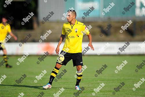 2014-07-26 / Voetbal / seizoen 2014-2015 / Berchem Sport / Brahim Boujouh<br /><br />Foto: mpics.be