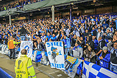 28th September 2017, Goodison Park, Liverpool, England; UEFA Europa League group stage, Everton versus Apollon Limassol; Apollon fans getting rowdy