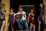 Pix: Shaun Flannery/sf-pictures.com....COPYRIGHT PICTURE>>SHAUN FLANNERY>01302-570814>>07778315553>>..15th November 2007..........Firefly Fashion Show, Doncaster Dome..Local musician John Parr performs with the models.