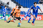 Brisbane Roar Midfielder Joe Caletti (L) in action during the AFC Champions League 2017 Group E match between Ulsan Hyundai FC (KOR) vs Brisbane Roar (AUS) at the Ulsan Munsu Football Stadium on 28 February 2017 in Ulsan, South Korea. Photo by Victor Fraile / Power Sport Images