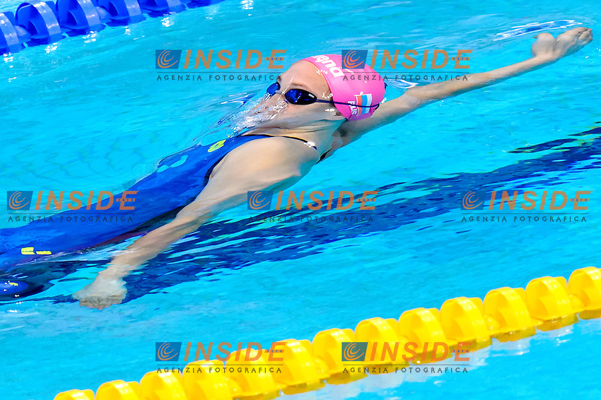 Irina PRIKHODKO RUS <br /> 100m Backstroke Women Preliminary <br /> London, Queen Elizabeth II Olympic Park Pool <br /> LEN 2016 European Aquatics Elite Championships <br /> Swimming<br /> Day 10 18-05-2016<br /> Photo Andrea Staccioli/Deepbluemedia/Insidefoto