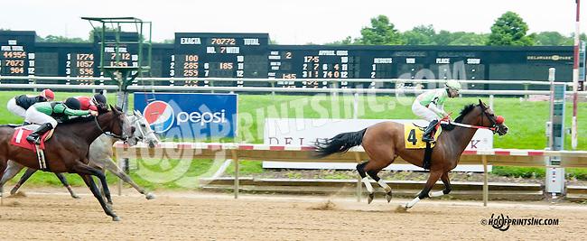 Malibu Murmur winning at Delaware Park on 7/25/13