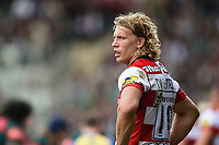 Billy Twelvetrees of Gloucester Rugby. Aviva Premiership match, between Leicester Tigers and Gloucester Rugby on September 16, 2017 at Welford Road in Leicester, England. Photo by: Patrick Khachfe / JMP