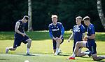 17.05.2019 Rangers training: Ryan Kent, Joe Worrall, Ross McCrorie