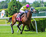 JUNE 08, 2019 : World of Trouble, with Manuel Franco, wins the Jaipur Invitational, at Belmont Park, in Elmont, NY, June 8, 2019.  Sue Kawczynski_ESW_CSM