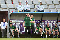 Republic of Ireland Manager, Stephen Kenny, anxiously looks on during Republic Of Ireland Under-21 vs Mexico Under-21, Tournoi Maurice Revello Football at Stade Parsemain on 6th June 2019