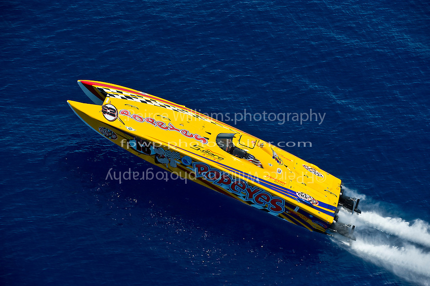 19-22 June, 2008 OSS Sunny Isles Beach.#13 Popeyes, class:Cat 850 driver:Stan Ware throttleman:.©2008 F.Peirce Williams  .
