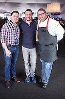 LOS ANGELES, CA, USA - MARCH 23: Gavin Kaysen, David Myers, David Lefevre at the All-Star Chef Classic - Savor The Season Presented By Melissa's Produce held at L.A. Live on March 23, 2014 in Los Angeles, California, United States. (Photo by David Acosta/Celebrity Monitor)