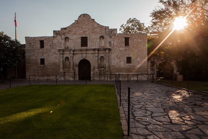 """The Alamo Mission is San Antonio is called """"The Shrine of Texas Liberty."""""""
