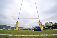 A general view of the Recreation Ground prior to the match. Aviva Premiership match, between Bath Rugby and London Irish on April 24, 2015 at the Recreation Ground in Bath, England. Photo by: Patrick Khachfe / Onside Images