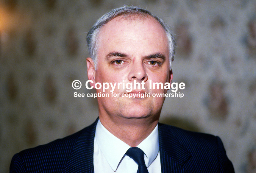 Rev Ivan Foster, Assemblyman, Fermanagh & South Tyrone, Democratic Unionist Party, N Ireland, minister, Free Presbyterian Church,19840061IF..Copyright Image from Victor Patterson, 54 Dorchester Park, Belfast, UK, BT9 6RJ..Tel: +44 28 9066 1296.Mob: +44 7802 353836.Voicemail +44 20 8816 7153.Skype: victorpattersonbelfast.Email: victorpatterson@me.com.Email: victorpatterson@ireland.com (back-up)..IMPORTANT: If you wish to use this image or any other of my images please go to www.victorpatterson.com and click on the Terms & Conditions. Then contact me by email or phone with the reference number(s) of the image(s) concerned.