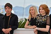 "CANNES, FRANCE. May 18, 2019: Phenix Brossard, Jessica Hausner & Emily Beecham at the photocall for the ""Little Joe"" at the 72nd Festival de Cannes.<br /> Picture: Paul Smith / Featureflash"