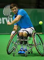 13-02-14, Netherlands,Rotterdam,Ahoy, ABNAMROWTT, Gorden Reid(GRB)<br /> Photo:Tennisimages/Henk Koster