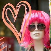 Shopping dummy at Portobello Market