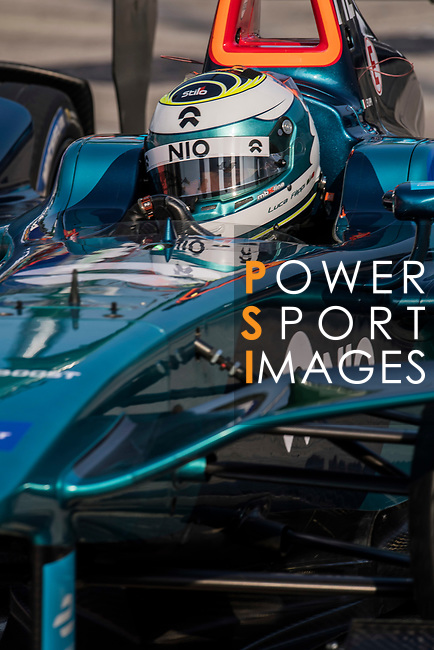 Luca Filippi of Italy from NIO Formula E Team competes during the FIA Formula E Hong Kong E-Prix Round 2 at the Central Harbourfront Circuit on 03 December 2017 in Hong Kong, Hong Kong. Photo by Victor Fraile / Power Sport Images