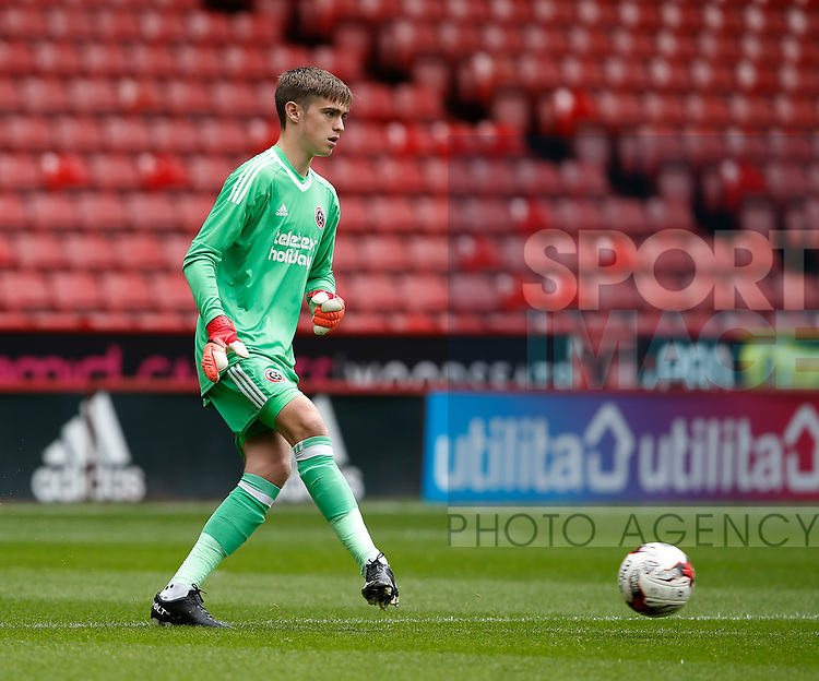 Marcus Dewhurst of Sheffield Utd during the Professional Development U23 match at Bramall Lane, Sheffield. Picture date 4th September 2017. Picture credit should read: Simon Bellis/Sportimage