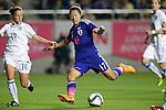 Linda Tucceri Cimini (ITA), Yuki Ogimi (JPN),<br /> MAY 28, 2015 - Football / Soccer : Kirin Challenge Cup 2015 match between Womens Japan and Womens Italy at Minami Nagano Sports Park, Nagano, Japan. <br /> (Photo by AFLO) [2268]