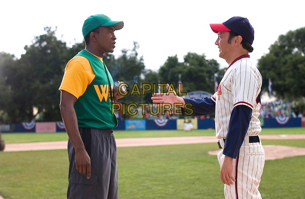 TIM MEADOWS & ROB SCHNEIDER.in The Benchwarmers.*Editorial Use Only*.www.capitalpictures.com.sales@capitalpictures.com.Supplied by Capital Pictures.