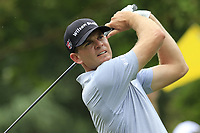 Brendan Steele (USA) tees off the 11th tee during Friday's Round 2 of the 2017 PGA Championship held at Quail Hollow Golf Club, Charlotte, North Carolina, USA. 11th August 2017.<br /> Picture: Eoin Clarke | Golffile<br /> <br /> <br /> All photos usage must carry mandatory copyright credit (&copy; Golffile | Eoin Clarke)