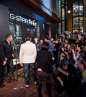G-Star RAW flagship Store Opening on 21 February 2012 in Leighton Road in Hong Kong. Photo by Mike Pickles / illume Visuals for G-Star.