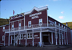 Downtown Hotel in Dawson City