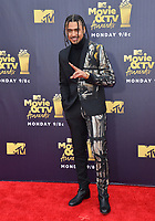 Quincy Brown at the 2018 MTV Movie &amp; TV Awards at the Barker Hanger, Santa Monica, USA 16 June 2018<br /> Picture: Paul Smith/Featureflash/SilverHub 0208 004 5359 sales@silverhubmedia.com