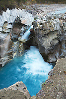 Colman Creek Falls, Icefields Parkway,  Banff National Park