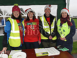 Organisers Edel Sayers, Michelle Hall, Ralph Jordan and Mags Brennan at the Goal Mile at St Fechins GAA club on St Stephen's morning. Photo:Colin Bell/pressphotos.ie