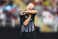 Seth Rance.<br /> Pakistan tour of New Zealand. T20 Series.2nd Twenty20 international cricket match, Eden Park, Auckland, New Zealand. Thursday 25 January 2018. &copy; Copyright Photo: Andrew Cornaga / www.Photosport.nz