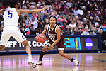 DALLAS, TX - MARCH 31:  Morgan William #2 of the Mississippi State Lady Bulldogs during the 2017 Women's Final Four at American Airlines Center on March 31, 2017 in Dallas, Texas. (Photo by Justin Tafoya/NCAA Photos via Getty Images)