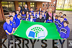 CBS Primary school, Clounalour, Tralee are very proud that they have received their fifth green flag for work on the Environment raised by Kerry paraolympian Roy Guerin on Friday..