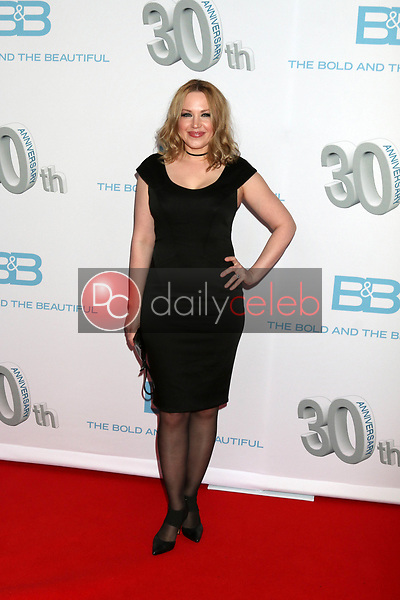 "Adrienne Frantz<br /> at the ""The Bold and The Beautiful"" 30th Anniversary Party, Clifton's Downtown, Los Angeles, CA 03-18-17<br /> David Edwards/DailyCeleb.com 818-249-4998"