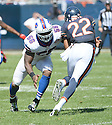 Buffalo Bills Keith Rivers (56) during a game against the Chicago Bears on September 7, 2014 at Soldier Field in Chicago, IL. The Bills beat the Bears 23-20.