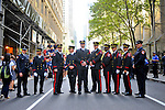 9/11 Memorial ceremony @ 5th ave Cathedral, Manhattan, NYC. Sep 10, 11.