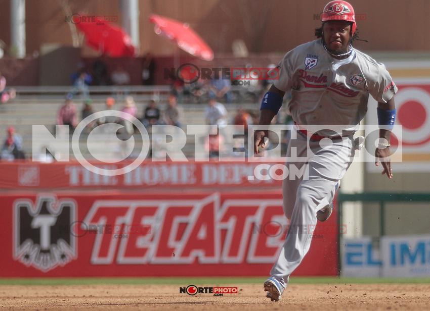 Hanley Ramirez  corriendo las bases durante  la Serie del Caribe 2013  de Beisbol,  Puerto Rico  vs Republica Dominicana ,  en el estadio Sonora el 2 de febrero de 2013...© (foto:BaldemarDeLosLlanos/NortePhoto)........during the 2013 Caribbean Series Baseball, Puerto Rico vs Dominican Republic in Sonora Stadium on February 2, 2013 ...© (photo: Baldemar of Llanos / NortePhoto)...http://mlb.mlb.com/mlb/events/winterleagues/league.jsp?league=cse