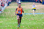LOUISVILLE, KY - NOVEMBER 18: Justin Knight #615 of Syracuse University sprints to the finish line to win the Division I Men's Cross Country Championship held at E.P. Tom Sawyer Park on November 18, 2017 in Louisville, Kentucky. (Photo by Tim Nwachukwu/NCAA Photos via Getty Images)
