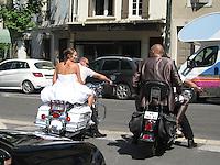 Motorcycle Matrimony, St. Remy en Provence